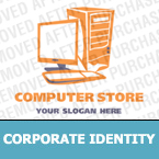 Computers Corporate Identity Template 14345
