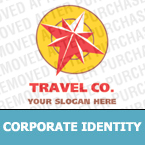 Travel Corporate Identity Template 14346