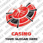 Casino Logo  Template 14350
