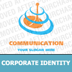 Communications Corporate Identity Template 14384