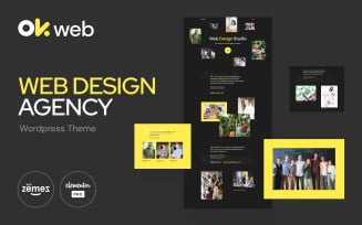 Web Design Studio Template - OkWeb