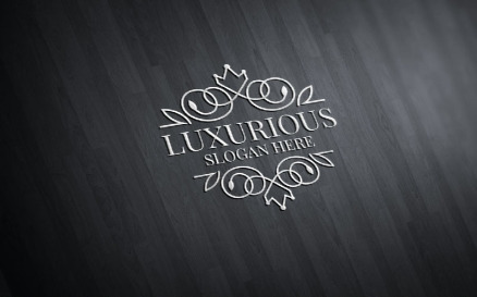 Luxurious Royal 42 Logo Template