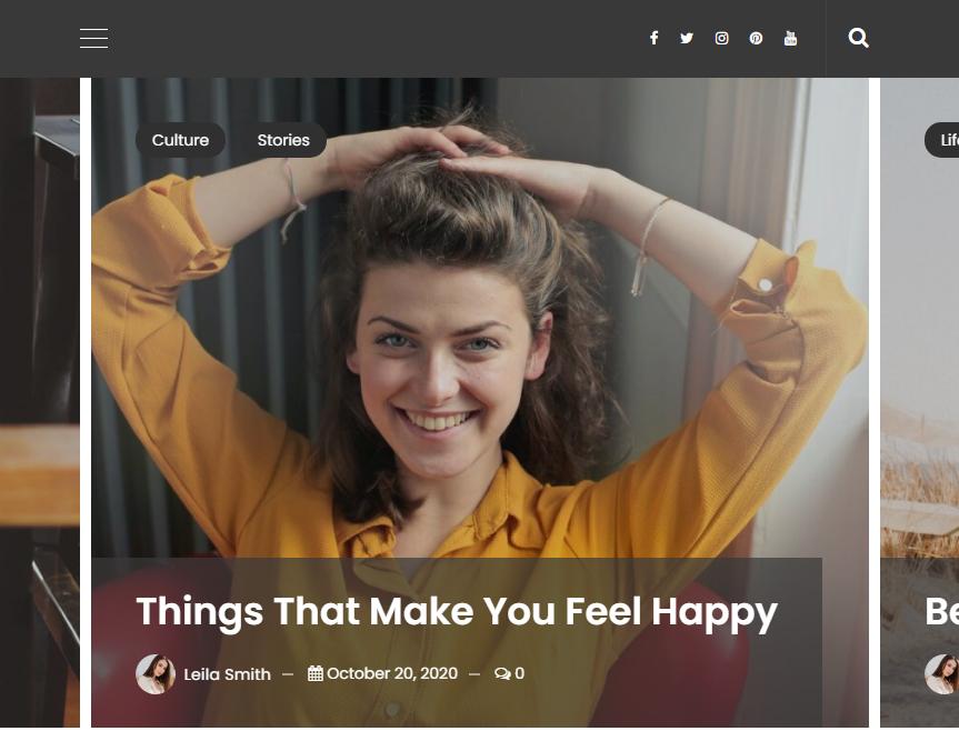 VeenBlog - Personal Blog WordPress Theme
