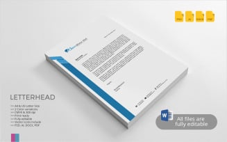 Free Letterhead - Corporate Identity Template