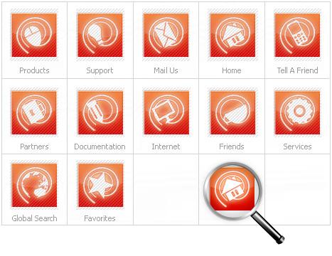 Neutral Iconset Template Icon Set