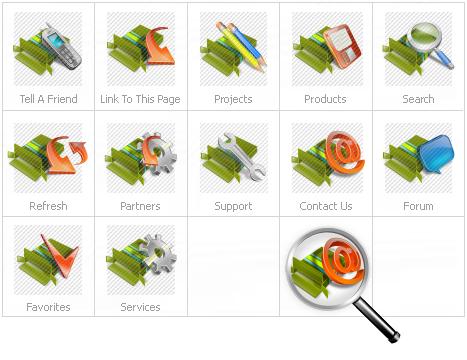 Icon Set Template 14431 Screenshots
