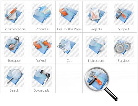 Icon Set Template 14433 Screenshots