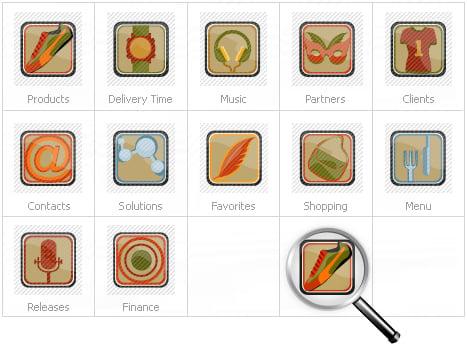 Icon Set Template 14434 Screenshots