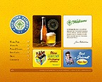Flash: Food & Drink Flash Site Brewery Templates