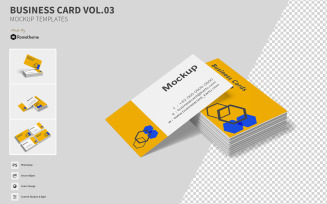 Business Card vol.03 - VR Product Mockup