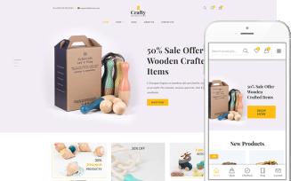 Crafty - A Clean, Minimalist WooCommerce Theme