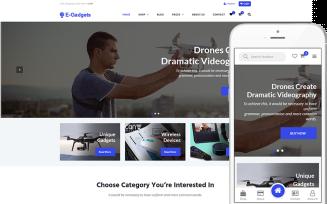 E-Gadgets - Technology & Gadgets WooCommerce Theme