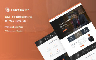 LawMaster - Law Firm Responsive