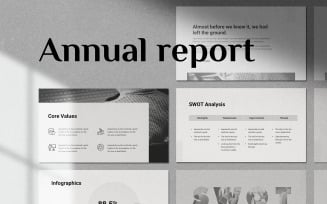 Annual Report - Smooth Animated Template
