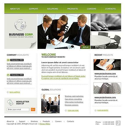 Website Template #14533