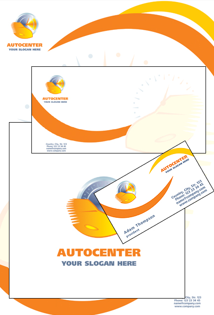 Corporate Identity 14555 Screenshot