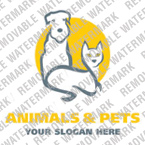 Animals & Pets Logo  Template 14565