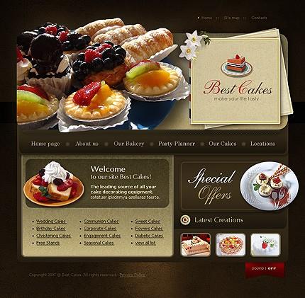 Creare site cofetarie