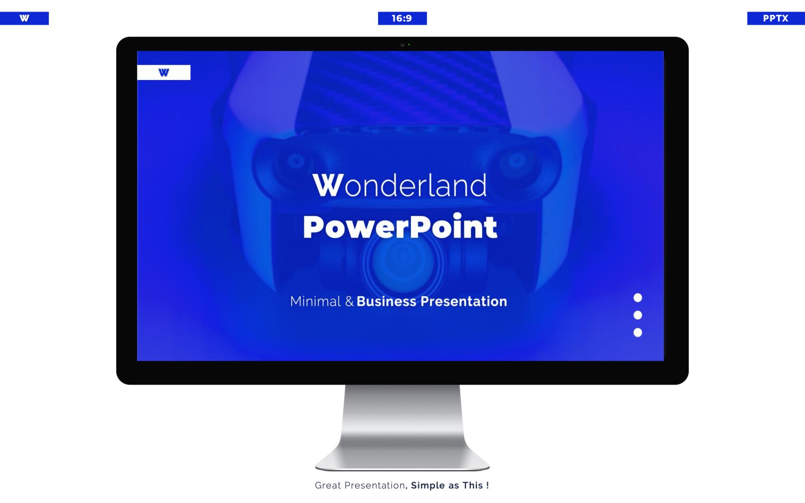 WONDERLAND PowerPoint Template