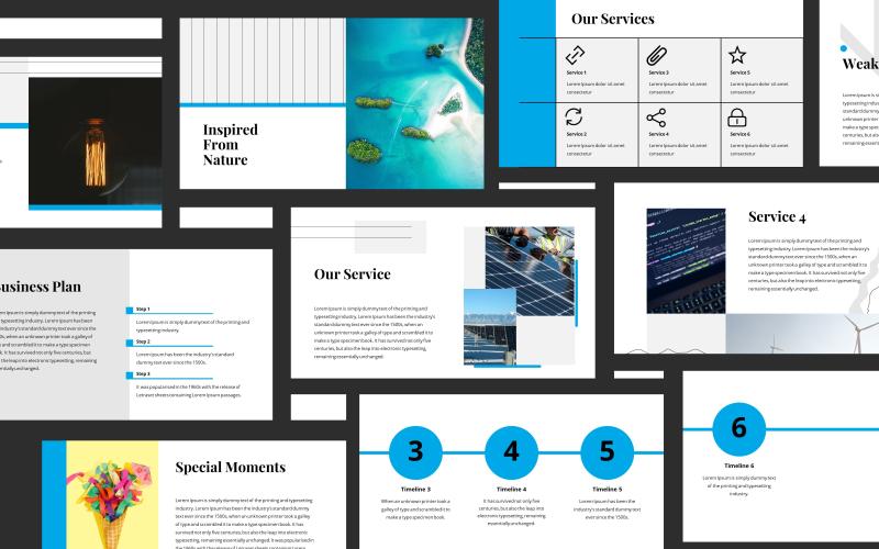 Clarice Minimalist Presentation PowerPoint Template