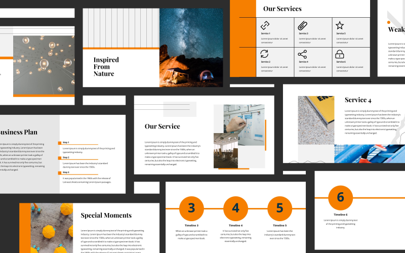 Rizette Modern Presentation PowerPoint Template