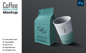 Coffe Cup Pack product mockup
