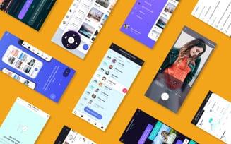 Mobile App Presentation product mockup
