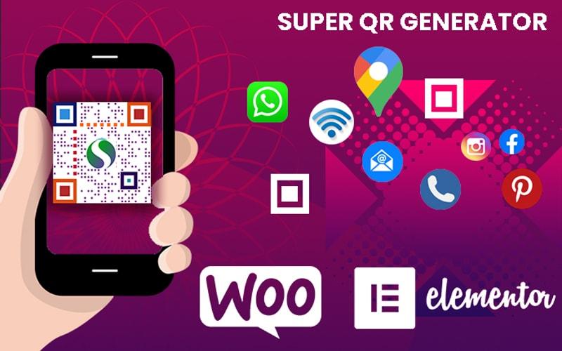 "WordPress Plugin ""Super QR Generator"" #145602"