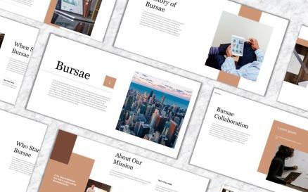 Bursae PowerPoint Template