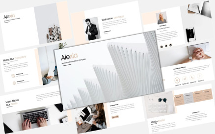 Alexia - Creative Business PowerPoint Template