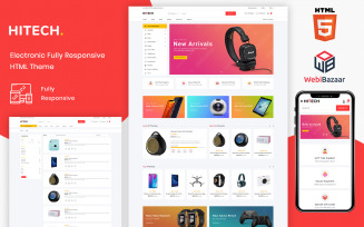 Hitech - HTML5 eCommerce Website Template