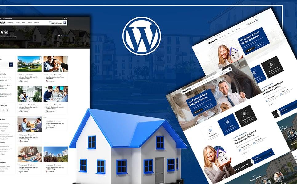 Miskara - Real Estate Tema WordPress №146032