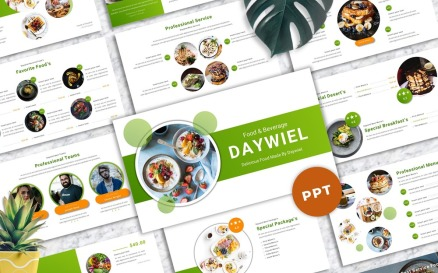 Daywiel - Food & Beverage PowerPoint Template