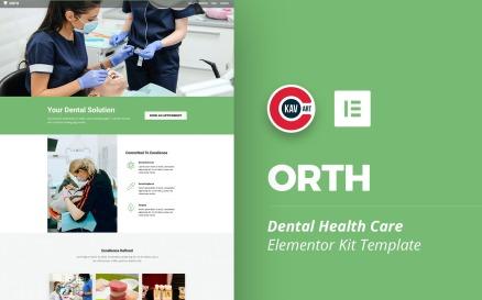 Orth - Dental Health Care Elementor Kit
