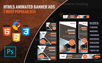 Shoping - Html5 Template Animated Banner
