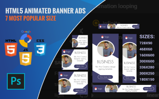 Agency - HTML5 Ads Template