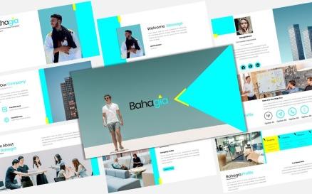 Bahagia - Free Business Keynote Template
