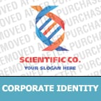Science Corporate Identity Template 14718
