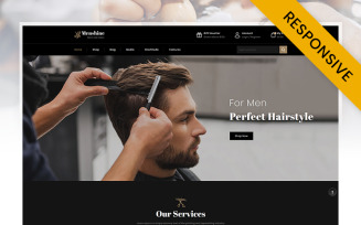 Menshine - Hair Salon Store WooCommerce Theme