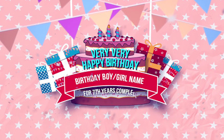Happy Birthday Slideshow Final Cut Pro Template