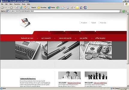Website Template #14800