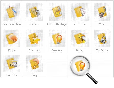 Icon Set Template 14836 Screenshots