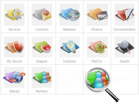 Icon Set Template 14842 Screenshots