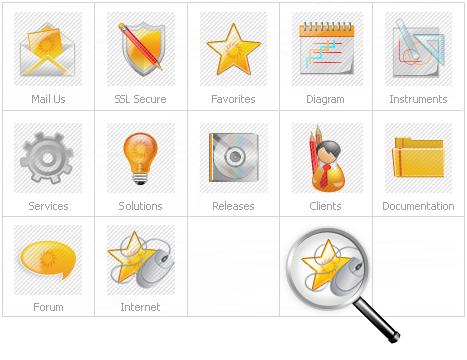Icon Set Template 14853 Screenshots