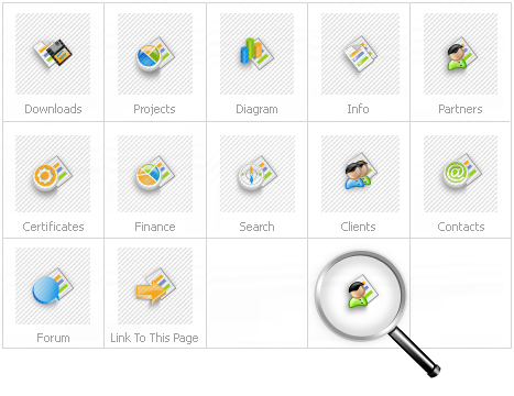 Icon Set Template 14854 Screenshots