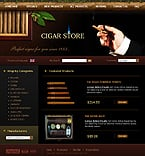 Zen Cart: Online Store/Shop Zen Cart Templates Tobacco Templates