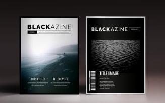 Blackazine Magazine Template