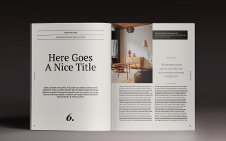 Brogazine Magazine Template
