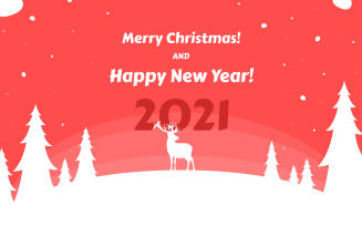 Christmas and New Year Greetings – Responsive Newsletter Template