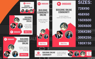 Community Html5 Templates Animated Banner